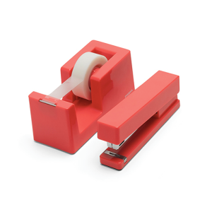 free shipping poppin coral stapler
